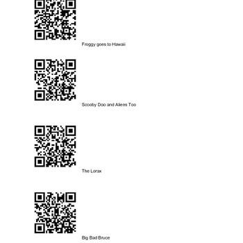 Listen to Reading QR codes FREEBIE!!!