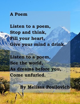 Listen to a Poem