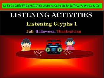 Listening Activities: Listening Glyths: Fall, Halloween, T