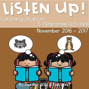 Listening Center: Listen UP! November 2016-2017 K and 1st