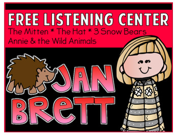 Listening Center QR Code Jan Brett