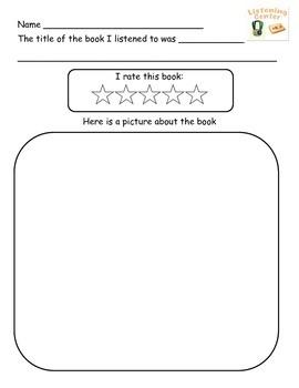 Listening Center Response Sheet