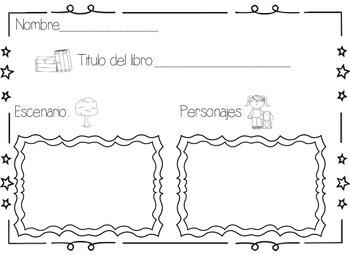 Listening Center Response Sheet (Spanish)