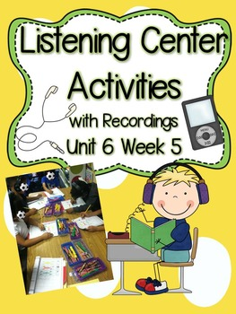 Listening Centers & Recordings (_ed, 2 syllable & sight wo