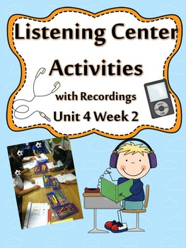 Listening Centers & Recordings (ee, ea, e words & sight wo