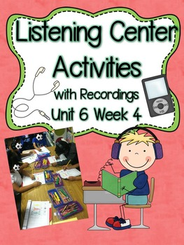 Listening Centers & Recordings (-ing, wr & sight words) Un
