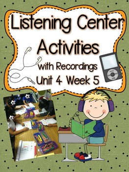 Listening Centers & Recordings (long e -y, ey & sight word