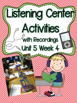 Listening Centers & Recordings (ow, ou words & sight words