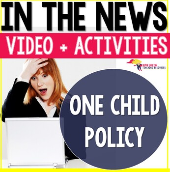 Listening Comprehension News Story One Child Policy