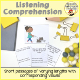 Listening Comprehension: Scaffolded with Visuals