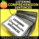 Listening Comprehension Sentences {With 210 Comprehension