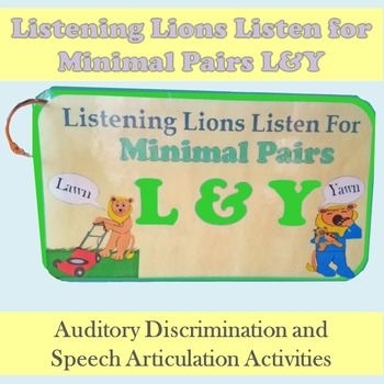 Listening Lions Listen for /l/ and /y/