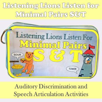 Listening Lions Listen for /s/ & /t/