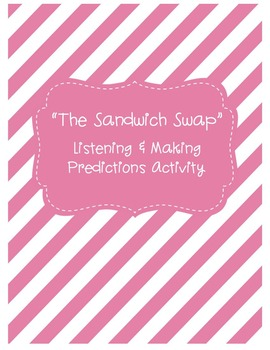 "Listening & Making Predictions FREEBIE Activity - ""The San"
