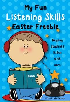 Listening Skills Easter Freebie {Following Directions}