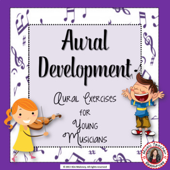 Music Aural Development Activities for Young Musicians