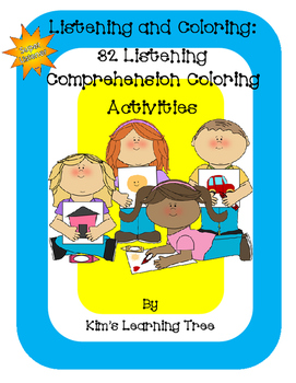 Listening and Coloring: 32 Listening Comprehension Colorin