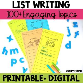 List Writing