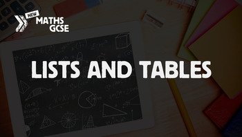 Lists & Tables - Complete Lesson