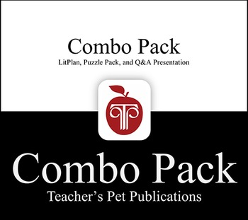 LitPlan Combo Pack The Grapes of Wrath: Lesson Plans, Puzz