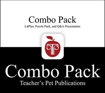 LitPlan Combo Pack The Pigman's Legacy: Lesson Plans, Tests...