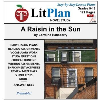 LitPlan Teacher Guide: A Raisin in the Sun - Lesson Plans,