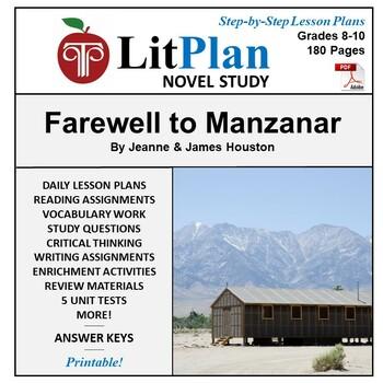 LitPlan Teacher Guide: Farewell to Manzanar - Lesson Plans