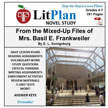 LitPlan Teacher Guide: From the Mixed Up Files of Mrs. Bas