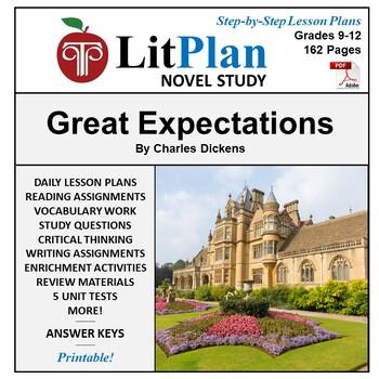 LitPlan Teacher Guide: Great Expectations - Lesson Plans,