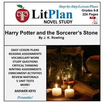 LitPlan Teacher Guide: Harry Potter and the Sorcerer's Sto