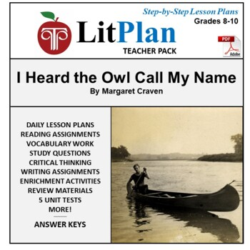 LitPlan Teacher Guide: I Heard the Owl Call My Name - Less