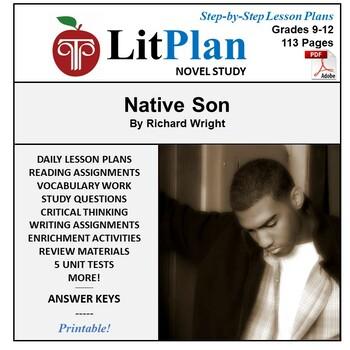 LitPlan Teacher Guide: Native Son - Lesson Plans, Question
