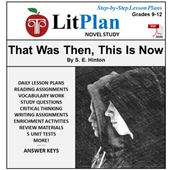 LitPlan Teacher Guide: That Was Then This Is Now - Lesson