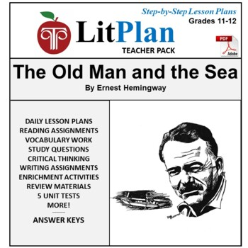 LitPlan Teacher Guide: The Old Man and the Sea - Lesson Pl