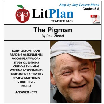 LitPlan Teacher Guide: The Pigman - Lesson Plans, Question