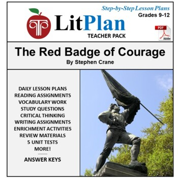 LitPlan Teacher Guide: The Red Badge of Courage - Lesson P