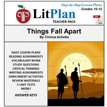 LitPlan Teacher Guide: Things Fall Apart - Lesson Plans, Q