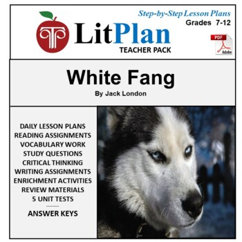 LitPlan Teacher Guide: White Fang - Lesson Plans, Question