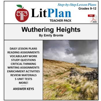 LitPlan Teacher Guide: Wuthering Heights - Lesson Plans, Q