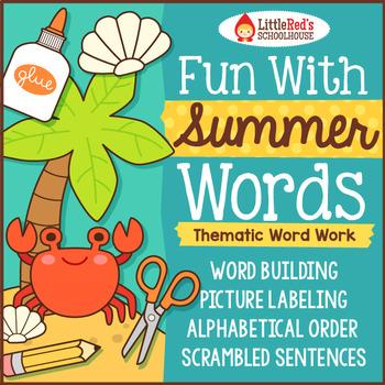 Summer Word Work