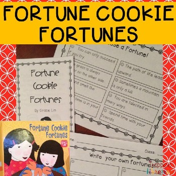 Literacy Activities for Fortune Cookie Fortunes by Grace Lin