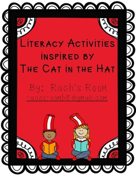 Literacy Activities inspired by The Cat in the Hat