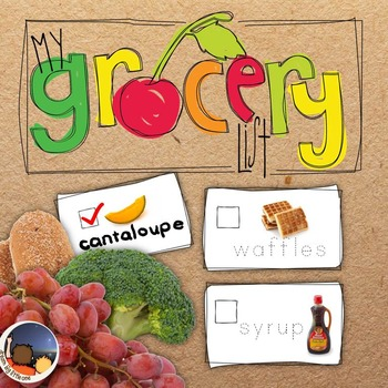 Literacy Activity - Make My Grocery List