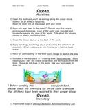 Literacy Backpack- OCEANS