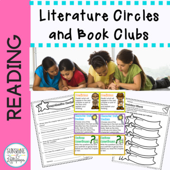 Literacy Circles and Book Club Reading Response Forms