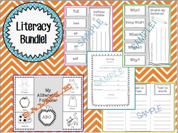 Literacy Bundle! (1st or 2nd Grade)