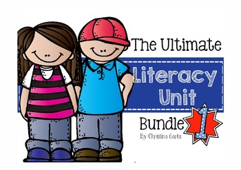 Literacy Activities Bundle 1 - Phonics & Comprehension Skills