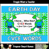 Earth Day--Happy Earth Day I Have... Who Has? CVCE Words