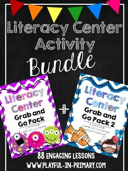 Literacy Center Mega Pack Bundle