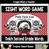 Literacy Center--Park Your Car Sight Word Game Second Grad